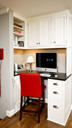 Great kitchen desk area
