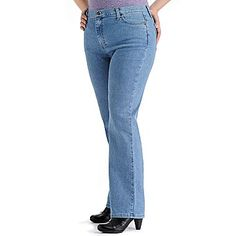 Lee 174 Side Elastic Jeans Plus Plus Size Women S And Jeans