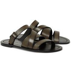 Shop men's sandals at MR PORTER, the men's style destination. Mens Designer Shoes, Designer Sandals, Best Sandals For Men, Men Sandals, Sneakers Fashion, Fashion Shoes, Men's Sneakers, Men's Fashion, Trainer Boots