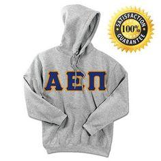 Alpha Epsilon Pi Standards Hooded Sweatshirt - $25.99 Gildan 18500 - TWILL