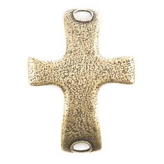 Cross Antique Brass Pendant at The Paper Store