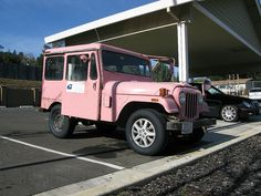PINKY, the Geyserville Postal Jeep by doctorhectic, via Flickr