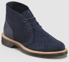 Dr Martens Army Boots Navy $169.74 http://www.wildfree.com/prods/dmR15828410.html #boots #navyboots #drmartens #Suede #backtoschool