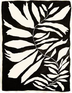 Stamp / Silkscreen Inspiration (by Kate Roebuck) Pattern Vegetal, Illustration Art, Illustrations, Tatoo Art, Black White Art, Motif Floral, Painting & Drawing, Design Art, Abstract Art