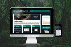 GorillaTrades WordPress Re-design  We perform a variety of services for GorillaTrades, including a website makover with marketing in mind, Custom 3D Modeling, Internet marketing and more.  This site barley resembles what it once was. We tweaked the mobile responsiveness of it to be as good as as possible using their older, outdated template, we redesigned half of the pages, we have created a slew of custom art pieces, 3D and animated videos, HTML emails, lead generation pages, and more.