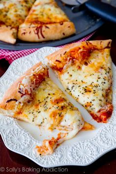 My favorite homemade pizza recipe. Rave reviews about this homemade pizza crust!