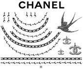 Chanel Temporary Tattoos - #Chanel #tattoos #Temporary Diy Tattoo, Real Tattoo, Chanel Tattoo, Temporary Tattoos, Small Tattoos, Tummy Tattoo, Ankle Tattoo Designs, Tattoo Bracelet, Hair Magazine