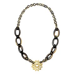 QueCraft Horn Chain Necklace - Q4537