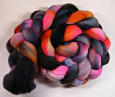 Gloaming merino wool top for spinning and felting 4.2 by yarnwench