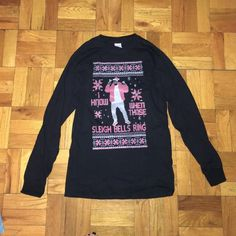 "Drake shirt Never worn l/s drake "" I know when those sleigh bells ring"" UNISEX shirt. Tops Tees - Long Sleeve"
