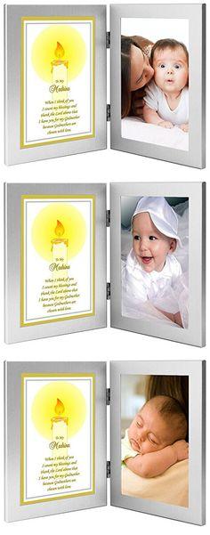 "Godmother Gift ""To My Madrina"" From Godchild - Baptism or Christening Gift - Add Photo"
