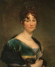 1810s - Baronesse Mathieu de Favier, Marquise de Jaucourt by François-Pascal-Simon Gérard, called Baron Gérard