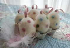 Wool Easter Eggs from mamas kram: Ostern