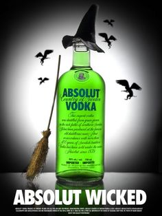 Absolut vodka, Wicked Witch of the West, Flying Monkeys? I have never seen any of this, is it really out there to buy?