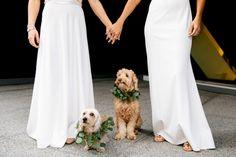 Tendencias para casamentos em 2020 - Pets Minimalist Wedding Dresses, Wedding Trends, Simple Style, Pets, Formal Dresses, Needlework, Skirts, Weddings, Beauty
