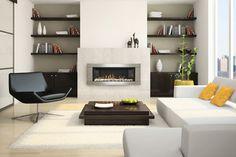 Contemporary Gas Fireplaces - Contemporary - Living Room - Denver - Fireplace Warehouse ETC
