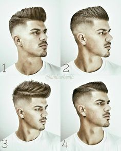"7,869 Likes, 209 Comments - MENS HAIR STYLES & BEARDS (@menshairworld) on Instagram: ""@ambarberia - Wow! Amazing work! What's your favourite?! Comment below """