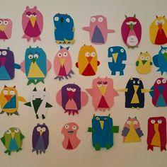 Bursdagskalender under utvikling av mine elever i Diy And Crafts, Crafts For Kids, Birthday Calendar, Teaching, Inspiration, Children, School, Tips, 2nd Grade Class