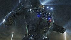 El #Jaeger australiano #StrikerEureka saca pecho para combatir a los #Kaiju en #PacificRim, lo nuevo de #GuillermoDelToro.