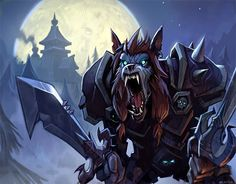 Worgen Deathknight by *GWhitehall on deviantART