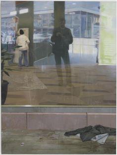 Tommy Hilding (Swedish, b. 1954), Granser / Borders, 2005. Oil on linen, 72 x 54 in.