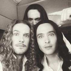 """Photo bomb... Evan Williams on Twitter: """"Thank you for watching everybody! Season 2 of #Versailles is right around the corner. So much more #monchevy  https://t.co/6p6bfEam0O"""""""