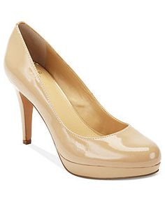 Circa by Joan & David Shoes, Pearly Platform Pumps - Shoes - Macys