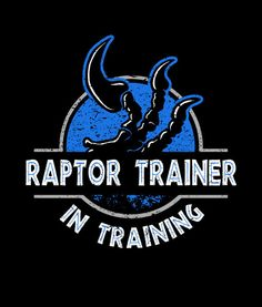 Raptor Trainer In Training Jurassic World Shirt Guys by Yipptee