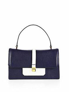 13e121fb9a7 Miu Miu - Madras Bicolor Mini Top-Handle Bag