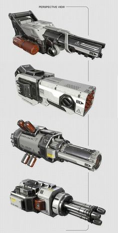 By Mark Nicolino Anime Weapons, Sci Fi Weapons, Weapon Concept Art, Weapons Guns, Fantasy Weapons, Military Weapons, Robot Design, Game Design, Armes Futures