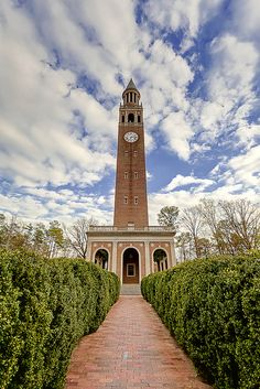 Clocktower at University of North Carolina - my alma mater by arindam8deloitte, via Flickr