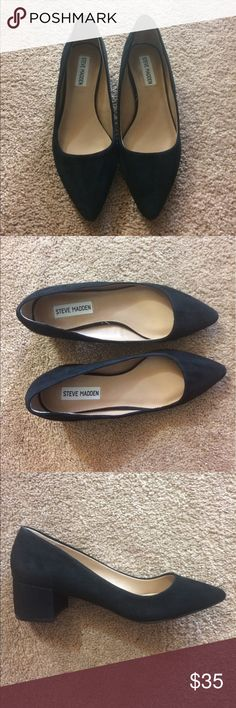 Steve Madden Cormac Black Shoes These Steve Madden shoes are absolutely beautiful! They are perfect for a day at the office or a night out. Steve Madden Shoes Heels