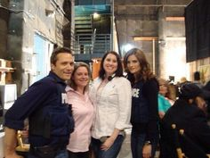 Seamus Dever and stana katic