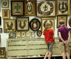Strangest Museums: Leila's Hair Museum Leila's Hair Museum, Independence, MO Leila Cohoon, a retired hairdresser, has lovingly collected 600 hair wreaths and more than 2,000 pieces of human hair jewelry dating back to the 18th century. One pair of wreaths features strands from two sisters whose heads were shaved upon entering a convent. Notable personalities including Michael Jackson, Queen Victoria, and four presidents have also made contributions.