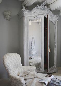 gorgeous armoire  website: lavieenrose.ie