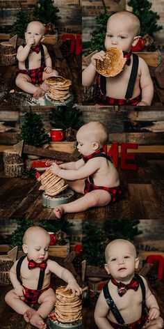 first birthday. one year session. one year old. Lumberjack Birthday Party, Boys First Birthday Party Ideas, 1st Birthday Pictures, One Year Birthday, Baby Boy First Birthday, Boy Birthday Parties, Birthday Cakes, Baby Christmas Photos, 1st Birthday Photoshoot