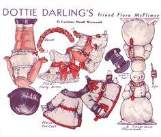 Flora McFlimsy paper doll back | Flickr - Photo Sharing!