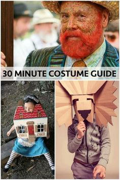 Dressing up for Halloween is the best part of the holiday, and making your own costume is a great way to make it memorable. That doesn't have to take weeks of planning and crafting though. How about a cubist bag mask, or a Van Gogh self-portrait? The lion mask is sure to inspire fear in the other party-goers, and people will want to know how you made it. If you're looking for something quick, clever, and cool, try eBay's guide on for size.