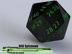 40-Sided Spindown Dice: Life Counters's video poster
