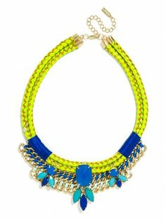 so obsessed with this colorful necklace!