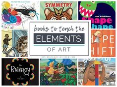 Art Books for Kids- Teach the Elements of Art Through Books - The Kitchen Table Classroom Elements And Principles, Elements Of Art, Sketchbook Drawings, Art Drawings, Art Books For Kids, Albrecht Durer, Art Archive, Child Life, Renaissance Art