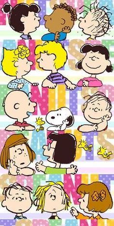 'the Language of Sharing', Charlie Brown and the Peanuts Gang.