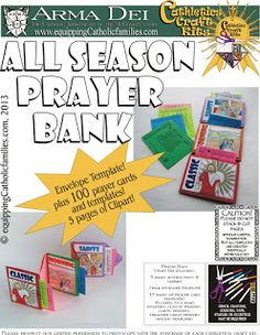 All Season Prayer Bank! $16  Contains over 100 prayers