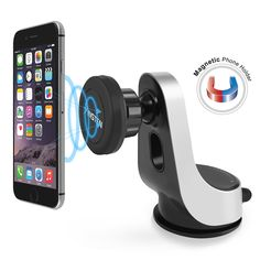 BasAcc Universal Magnetic Mount Car Air Vent Phone Holder and Kickstand for Apple iPhone 6S Plus/ Samsung Galaxy S7 Edge #2207922