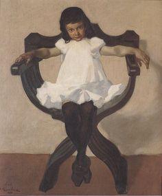Portrait of Lorli, Albin Egger-Lienz Arsenal, Franz Marc, Winslow Homer, Portraits, David Hockney, Pictures Online, Art Database, Historian, Cool Artwork