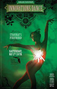 "Florida Dance Theatre presents ""Firebird"" @ Polk Theatre on May 12 @ 7:30pm"