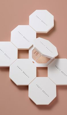 Fenty Beauty by Rihanna was created with promise of inclusion for all women. With an unmatched offering of shades and colors for ALL skin tones, you'll never look elsewhere for your beauty staples. Cosmetic Packaging, Beauty Packaging, Makeup Brands, Best Makeup Products, Beauty Products, Glam Makeup, Beauty Makeup, Makeup Package, Cosmetic Design