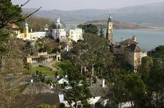 Portmeirion. One of the most enchanting villages in Wales. Home of the famous Portmeirion china.