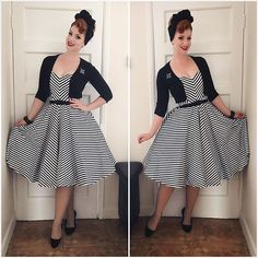 OOTD Dress vixenbymichelinepitt via topvintageboutique Hair Turban sarahsdoowopdoshellip
