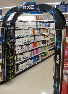 AXE - Walgreens - Aisle Archway
